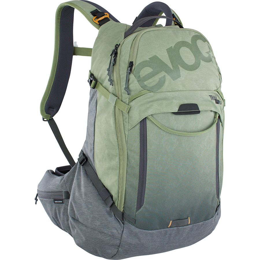 Evoc - TRAIL PRO 26l - light olive - carbon grey