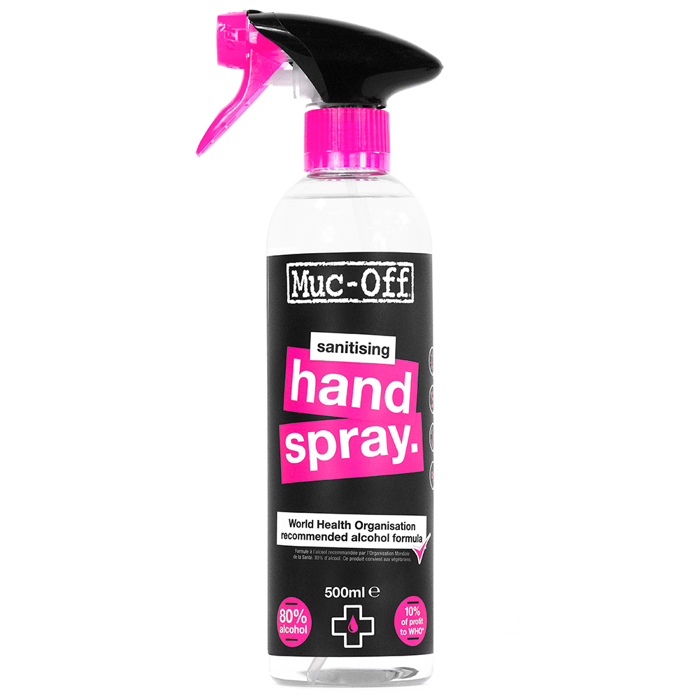 Antibacterial Sanitising Hand Spray 500ml