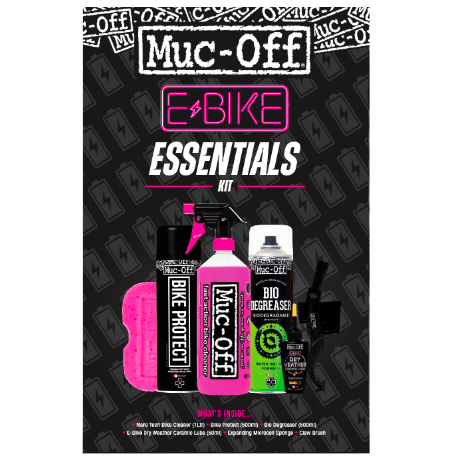 ebike Essentials Kit Clean Protect & Lube