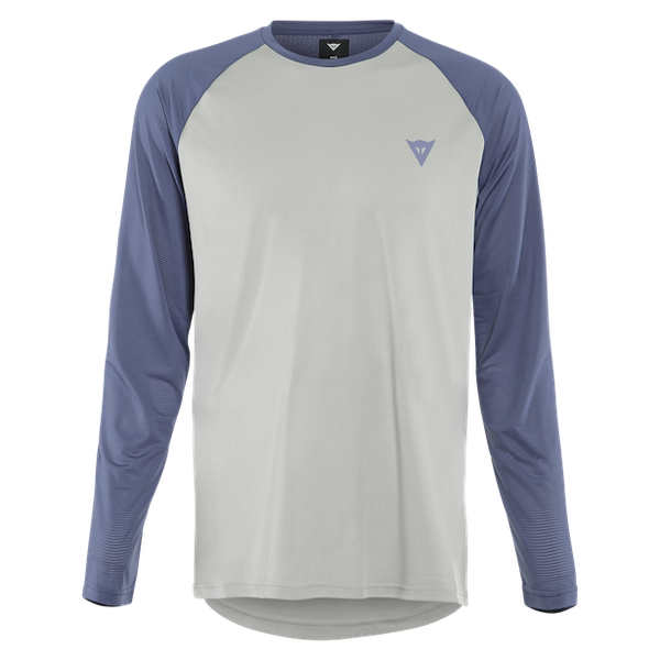 Dainese - Maglia HG TSINGY LS LIGHT-GRAY/BLUE