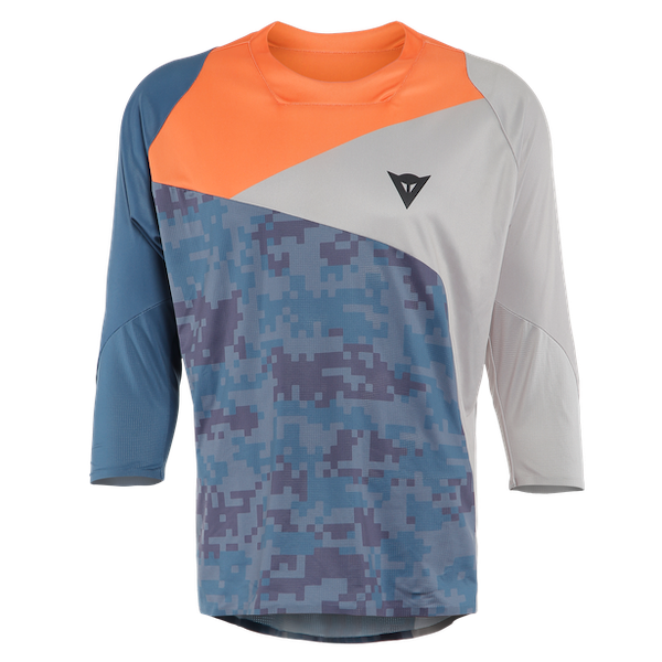 Dainese - Maglia HG OTZARRETA 3/4 CAMO-BLUE/LIGHT-BLUE