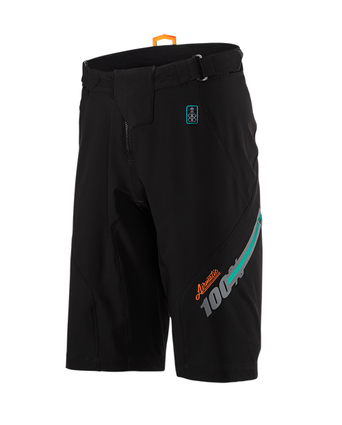 100% - Airmatic FAST TIMES Short Black