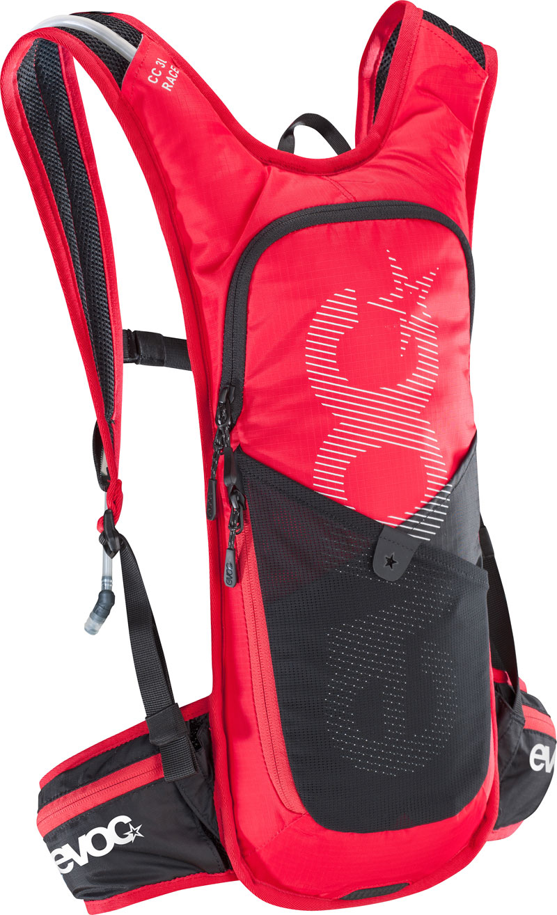 Evoc - CC 3l RACE + 2l Bladder - red/black