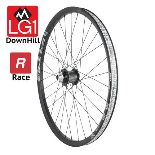 Ruota anteriore LG1 Race Carbon DownHill