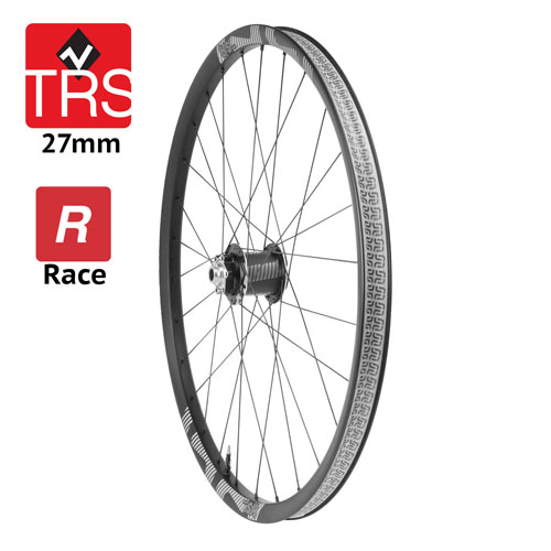 Ruota anteriore TRS Race Carbon 27mm