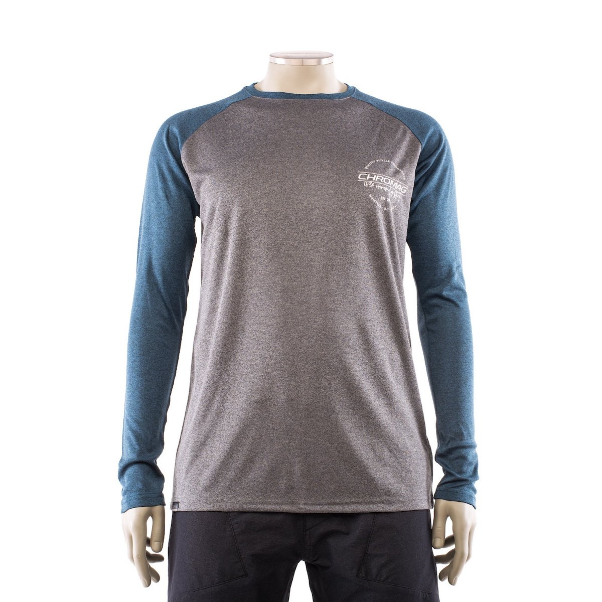 Jersey LS Dominion 4130 Charcoal