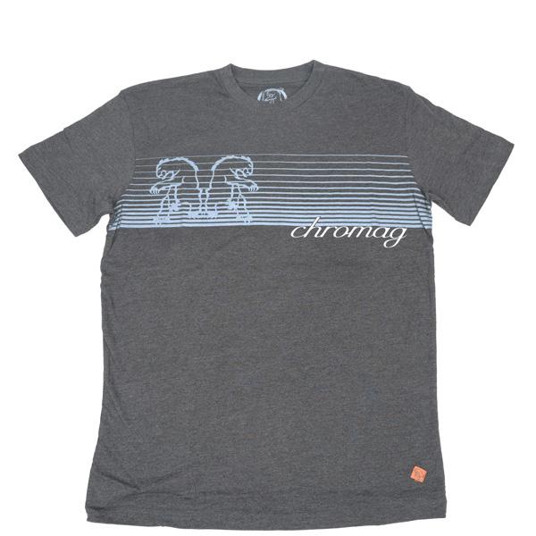 Chromag - Tee Shirt Fader Charcoal