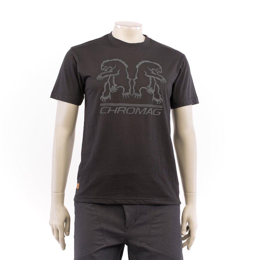 Chromag - Tee Shirt Bear Reflect Pirate Black